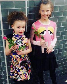 #fendikids dresses #ss17collection ....little fashioniste for FENDI!