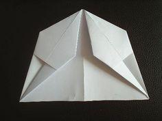 Papierflieger Faltanleitung 5