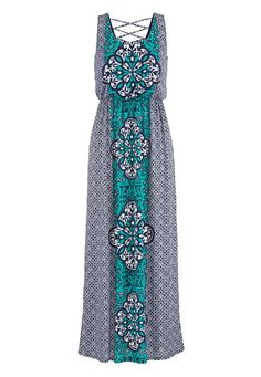 crisscross back maxi dress (original price, $39) available at #Maurices