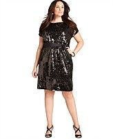 shopping guide plus size sequin dresses Nye Dress, Dress Up, Curvy Fashion, Plus Size Fashion, Plus Size Sequin Dresses, Plus Size Sale, Review Dresses, Belted Dress, Classy Outfits
