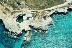 Poesia caves, Salento, Italy Foto repertorio 2006
