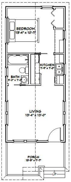 14x32 tiny house 14x32h1a 447 sq ft excellent floor plans. Interior Design Ideas. Home Design Ideas