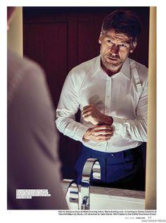 Nikolaj Coster-Waldau para Esquire Middle East Mayo por Mazen Abusrour