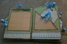 Mini Album Cookbook: Mini Album for a Special Birthday Boy ~ Accordion Envelope Mini