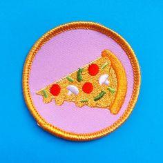 Pizza patch designed by Kitiya Palaskas