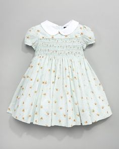 Floral Swiss-Dot Dress by Ralph Lauren Childrenswear at Last Call by Neiman  Marcus. 95a836ad73
