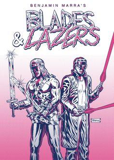 16-pg 2-Color Risozine Comic by Benjamin Marra