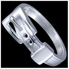Silver ring, opasek