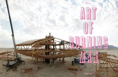 Sample page from my new book - Art of Burning Man, published by Taschen.