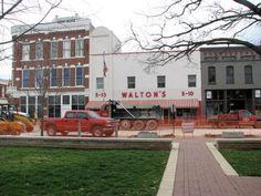 Original Walton's 5 & 10, Bentonville, AR