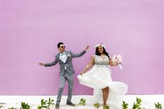 Be Photography on The Perfect Palette | Ocho Rios Jamaica Wedding with DIY Details Galore