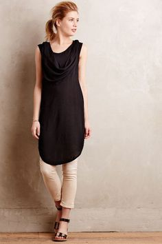 Morrigan Cowled Tunic Dress - anthropologie.com