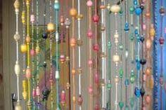Les 8 meilleures images du tableau rideaux perles, fils, bois sur ...
