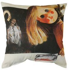 Deep Red Pillow