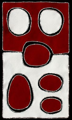 Aboriginal Artwork by Sally Clark. Sold through Coolabah Art on eBay. Cataogue ID 17219