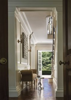 Traditional Entry and Hall in US by Thomas Pheasant Interiors