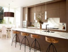 Marble Counter Breakfast Bar