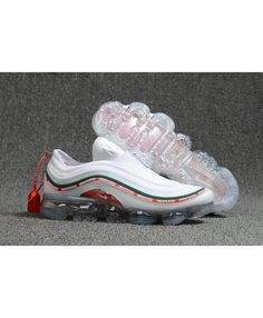 Nike Air Max 97 Air VaporMax Mens White Red Green 56a5357c1
