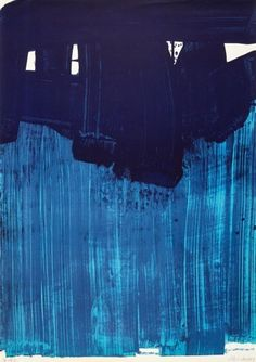 View Lithographie No 23 by Pierre Soulages on artnet. Browse upcoming and past auction lots by Pierre Soulages. Graphic Illustration, Graphic Art, Illustrations, Blue Painting, Fine Art Auctions, Blue Abstract, Les Oeuvres, Discovery, Van