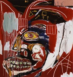Jean-Michel Basquiat (American, 1960 – began as a graffiti artist in New York City in the late and in the produced Neo-expressionist painting. Basquiat died of a heroin overdose at. Keith Haring, Jm Basquiat, Jean Michel Basquiat Art, Basquiat Tattoo, Basquiat Artist, Pablo Picasso, Fondation Louis Vuitton, Basquiat Paintings, Street Art