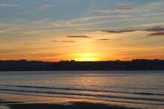 Playa de Miño: La puesta de sol en nuestra playa