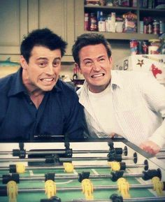 Joey & Chandler By: sam