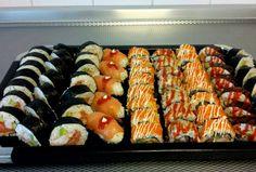 - Everything About Food Kinds Of Sushi, Sushi Love, Nigiri Sushi, Sashimi, Vegan Recipes, Snack Recipes, Cooking Recipes, Good Food, Yummy Food