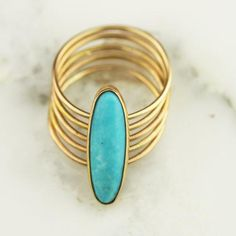 This vintage-inspired, multi-band ring from @hoardjewelry couldn't look more modern. #etsyjewelry