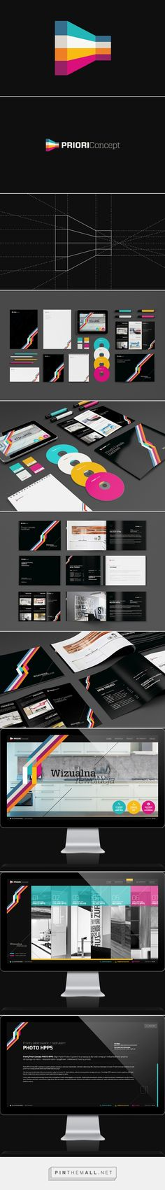 Professional and Modern Branding Projects by Necon