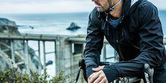 Men's Empire Bicycle Jacket in Jet Black