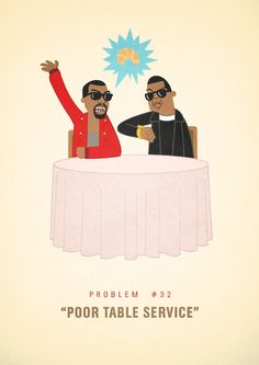 """99 Problems, a new Tumblr, illustrates some of Jay Z's day-to-day challenges, including searching for the perfect rhyme for """"orange."""""""
