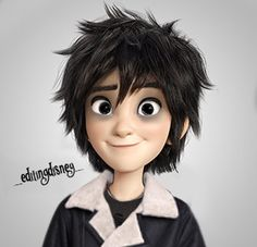 Hiro turned into Nico Di Angelo