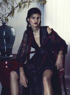 вечер музы: Астрид холлер Николь Бентли для Vogue Австралия декабрь 2015 | визуальный оптимизм; редакционные мода, показы, кампании и многое другое!