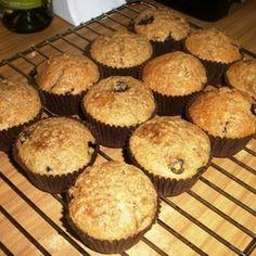 Stevia Bananen Muffins