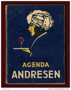PORTUGAL - PORTO ANDRESEN - VINHO DO PORTO - CALENDARIO - 1945 OLD AGENDA