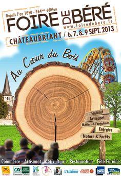Foire de Béré. Du 6 au 9 septembre 2013 à Chateaubriant.