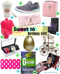 Link To Our Pinterest Sweet 16 Presents Gifts Birthday Cheap