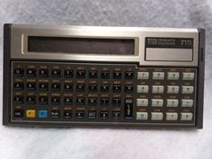 Hewlett Packard HP-71B Calculator/Handheld Computer #HP #vintage #HP71B…
