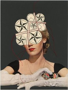 Futurist, 2009.  Collage by Angelica Paez.