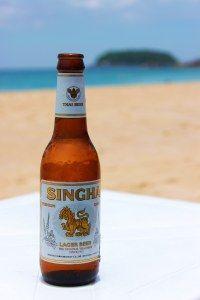 Singha THAI Beer! i love thailand