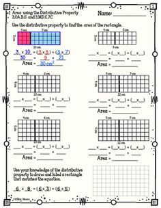 14 Best Distributive property of multiplication images in ...