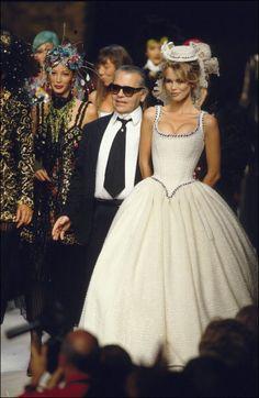 Chanel Fashion Haute -Couture Autumn -Winter 92/93 In Paris, France, July, 1992.