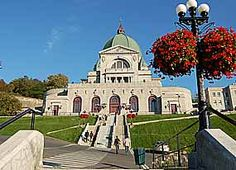 © André Charron - Saint Joseph's Oratory of Mount Royal, Montreal, Canada St Joseph, Montreal Canada, Montreal Quebec, Places To See, Places Ive Been, O Canada, City State, Place Of Worship, Fashion Night