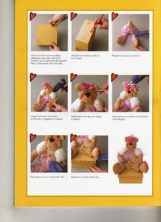 como hacer muñecas halloween - Revistas de manualidades gratis