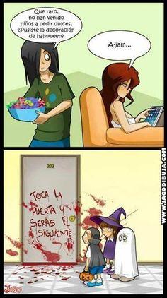 Spanish Halloween jokes #Halloween humor #Spanish jokes #Chistes Halloween #spanishhumor