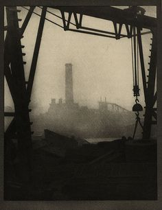 Alvin Langdon Coburn - The Edge of the Black Country, c.1907. Photogravure used as illustration in  'The Door in the Wall and Other Stories' by H. G. Wells.