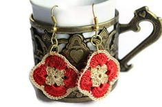 karmaistanbul: Handmade Crochet Earrings