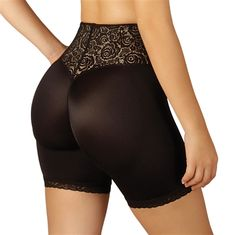 89f4789833 Butt boosting mid-thigh shapewear will tone and lift inner thighs and  buttocks. Front