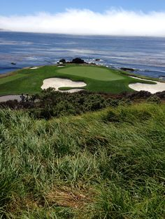 Pebble Beach! I've actually been there and seen this in person. Absolutely beautiful