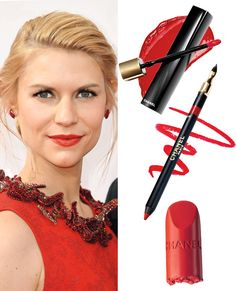 Holiday Beauty Hacks - Stay in the Red from #InStyle